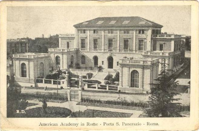 Society of Fellows of the American Academy in Rome Weblog ...